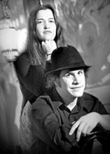 MARK  GILLILAND - Bottoms Up Blues Gang's Kari Liston and Jeremy - Segel-Moss