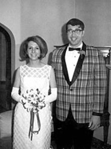 COURTESY OF KATY FISCHER - In the old days, suits could serve as prom-night birth control