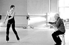 Pointe-less? Neve Campbell (left) and Malcolm McDowell in Altman's The Company.