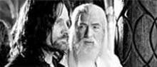 Triumphant Return: Viggo Mortensen (left) and Ian McKellan complete Tolkien's trilogy
