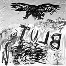 A.R. Penck, Tulb (1976), on display at the Saint Louis Art Museum through January 11