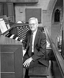 William Partridge is at the controls at Christ Church Cathedral this Christmas