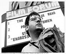 A film nerd is driven to the breaking point in Cinemania, screened Monday night at Frederick's