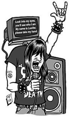"MARK  POUTENIS - Hi, Mom. It's ""Retarded Rock & Roll Karaoke"" at the Creepy Crawl."