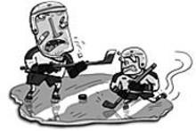JOE  ROCCO - Minor league hockey separates the men from the boys, eh?