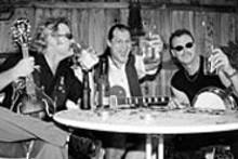 The Kerosene Bros. drink the 'magic water' that transforms them into their alter-egos, Hayseed Dixie