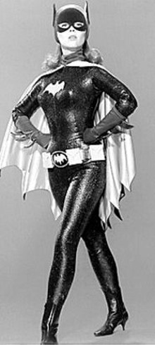 Yvonne Craig puts on the Batgirl suit one more time
