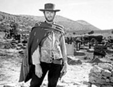 The Man with No Name (actually, it's Clint Eastwood) invites you to the Tivoli this Tuesday at 4:15 and 8 p.m.