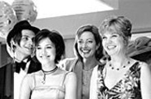 Trent Ford, Mandy Moore, Allison Janney and Connie Ray in How to Deal