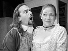 Todd Gillenardo and Sara Renschen in The School for Wives