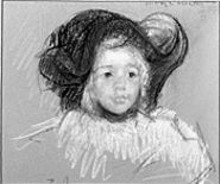 """Little Girl in a Big Hat,"" 1904"