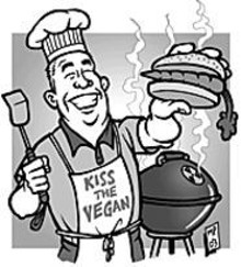 MARK  POUTENIS - This Independence Day, consider barbecuing something that never had a face.