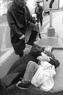 JENNIFER  SILVERBERG - Christine Mains, holding her daughter, was arrested last week by Berkeley police.