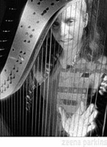 Zeena Parkins' harp music contains divine beauty and unbearable tension.