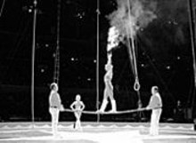 The Moolah Shrine Circus swings into the Family Arena.