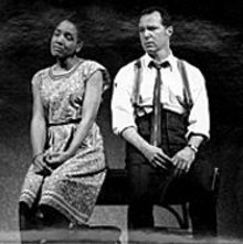 Perri Gaffney and Ron Bohmer in Bee-luther-hatchee