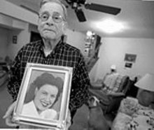 JENNIFER  SILVERBERG - Last year, Harold Louis lost his wife, Ruth. He recently learned he has lung cancer.