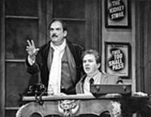 PAUL  KOLNIK - Lewis J. Stadlen and Don Stephenson in The Producers