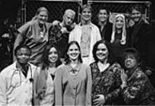 Fontbonne's Godspell cast