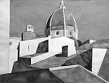 """Bill Kohn's """"Albergo Brunelleschi,"""" 2000"""