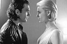 Is it hot in here? Antonio Banderas and Rebecca Romijn-Stamos in Femme Fatale.