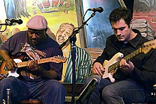 COREY WOODRUFF - Alvin Jett & the Phat noiZ Blues Band: He knows the blues.