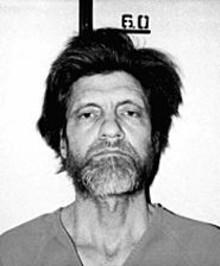 Theodore Kaczynski, a.k.a. the Unabomber