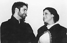 Christian Navarrete and Julie Venegoni in Jane Eyre