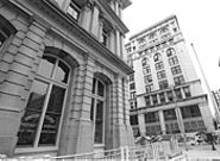 JENNIFER  SILVERBERG - The Old Post Office (foreground) and Century Building