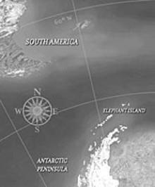 DAN NUTU FOR WGHB-TV - The Endurance was claimed by the frozen ocean near Elephant Island.