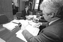 JENNIFER  SILVERBERG - St. Louis Circuit Attorney Jennifer Joyce with Assistant Circuit Attorney Edmund Postawko