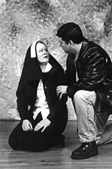 Donna M. Parron and Matt Thornton in Sacrilege