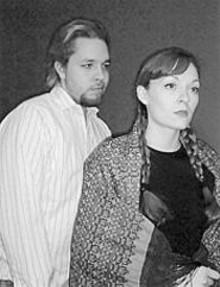 Matt Kahler and Colleen Marier in God of Vengeance