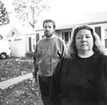 """JENNIFER  SILVERBERG - """"You can't do that to people; it's not fair,"""" says Dawn McCoy, shown with husband Ron."""