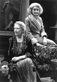 J. BRUCE SUMMERS - Sally Kemp (left) and Ashley West in The Royal Family