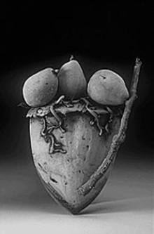 """""""The Burden of Abundance,"""" 2001, ceramic, Susan Bostwick"""