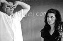 Vincent D'Onofrio and Marisa Tomei in Happy Accidents