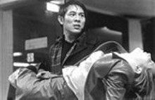 In Kiss of the Dragon, Jet Li (toting Bridget Fonda) plays a Beijing supercop investigating a drug-smuggling operation.