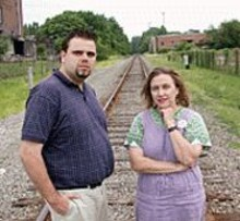 Joe Harris and Julie Kelemen