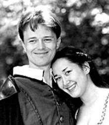 Sean McNall and Jennifer Ikeda are Romeo and Juliet