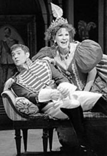 KEN HOWARD/OPERA  THEATRE OF ST. LOUIS - Harold Gray Meers and Phyllis Pancetta in The Grand Duchess of Gerolstein