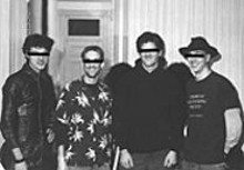 Western Robot (left to right): Chris Deckard, Andrew Pryor, Desmond Davis, Ryan Geddes