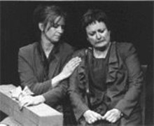 J. BRUCE SUMMERS - Karen Radcliffe and Peggy Cosgrave in Women Who Steal
