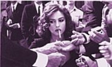 Monica Bellucci in Malna, which treats her character's abuse in offensively comic fashion.