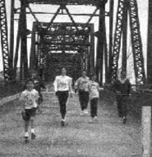 WM.  STAGE - Skipping the old Chain of Rocks Bridge
