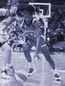 WNBA  ENTERPRISES - The Houston Comets Sheryl Swoopes