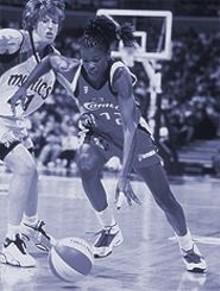 WNBA  ENTERPRISES - The Houston Comets Sheryl Swoopes