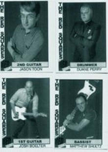 The Red Squares play punk rock funneled through '60s AM radio, all hooky and melodic and romantic.