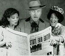 BILL  STOVER - Janine Burmeister, Rich Pisarkiewicz and Zoe Vonder Haar in State Fair