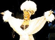 Beverly Stewart-Anderson as Glinda in The Wiz